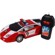 Road Master Radio Control Police Car (RED/White)
