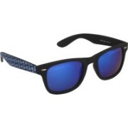 Djorn Rectangular Sunglasses(Blue)