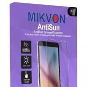 6x Mikvon AntiSun Films de protection d'écran pour Panasonic HC-X1000 - transparent - Made in Germany