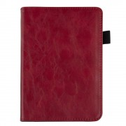Shop4 - Kobo Clara HD Hoes - Book Cover Retro Rood