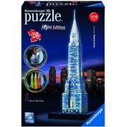 Puzzle 3D cladirea Chrysler, editie luminoasa, 216 piese Ravensburger