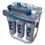 Sistema de Osmosis Inversa Alacalino 6 Etapas 100 GPD con Bomba