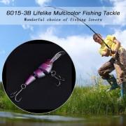 EW Multi-cebo Sección De Artes De Pesca 6015-3B Tres De Múltiples Secciones De Simulación De Cebo-Multicolor