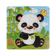 Lavany Lavany Wooden Chunky Puzzle Panda Jigsaw Toys For Kids Education And Learning Puzzles Toys
