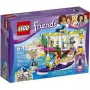 Конструктори ЛЕГО ФРЕНДС - Магазин за сърфове Хартлейк, LEGO Friends, 41315