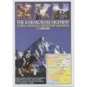 Wegenkaart - landkaart The Karakoram Highway | KKH - open road guides