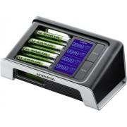 Încărcător acumulatori NiMH + 4 acumulatori AA, Varta LCD Ultra-Fast