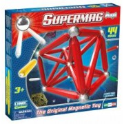 Supermag Maxi One Color - Set Constructie 44 Piese
