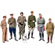 Master Box Ltd. The Generals of WWII figura makett MB35108