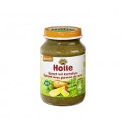 Piure de spanac si cartofi - Holle
