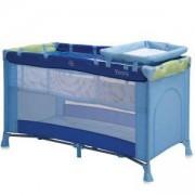 Бебешка кошара на 2 нива - Penny, Blue and Green, Lorelli, 10080291674