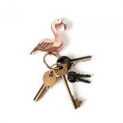Gift Republic Flamingo Schlüsselanhänger & Flaschenöffner