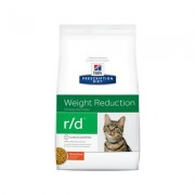 Hill's Prescription Diet r/d Weight Reduction Chicken Flavor Dry Cat Food, 4-lb bag