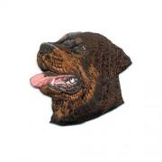Brodyrmärke Rottweiler huvud utan text