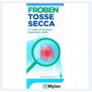 "MYLAN SpA Froben Tosse Sec, ""1,7 Mg/5 Ml Sciroppo""Flacone 125 Ml Con Misurino"""