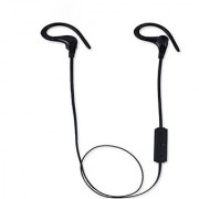 Bluetooth Headphone Hi-tec BT-1 Wireless Bluetooth Headset with Stereo Sound for Smarter Phone (Black)