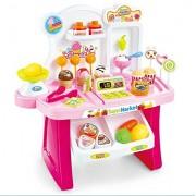 Kidsbele Kids Supermarket Cash Register Toy Mini Shopping Checkout Juguetes Plastic Miniature Pretend Play House Toy Simulation Briquedos