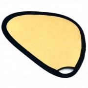JJC RE-H30G Blenda triunghiulara Auriu/Argintiu 30cm