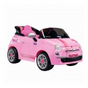 Masinuta cu telecomanda Fiat 500 Star Pink Peg Perego
