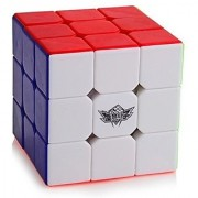 Cyclone Boys Magic Cube 3x3x3 Stickerless Speed Puzzle Cube(56mm)