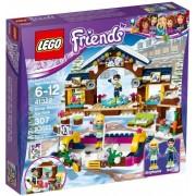 Lego Klocki konstrukcyjne Friends Lodowisko w Zimowym Kurorcie 41322