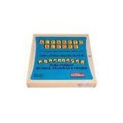 Brinquedo Educativo Alfabeto Alegre 0202 – Carimbras