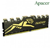 Apacer 8GB DDR4 2400 U-DIMM Black Panther Gaming White LED