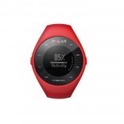 Polar M200 - водоустойчив часовник за бягане с GPS и Heart Rate сензор (червен)