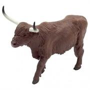 Mojo Fun 387199 Highland Cow - Realistic Farm / Ranch / Barnyard Animal Toy Replica - NEW for 2014!
