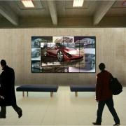 Panasonic TH-47LFV5W monitor 47 frameless D-LED LCD robust 500 cd/m2 5,3mm b.to b. 24/7