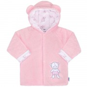 NEW BABY Zimní kabátek New Baby Nice Bear růžový 36841