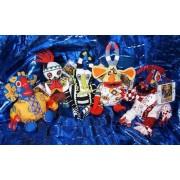 "Lion King Trickster Set of Five 9"" Plush Figures"