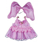 """Pink Butterfly Teddy Bear Clothes Outfit Fits Most 14"""" - 18"""" Build-a-bear, Vermont Teddy Bears, and"""