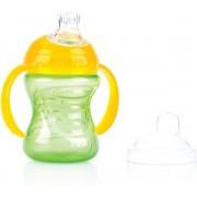 Nuby Super Spout Beker Groen/ geel
