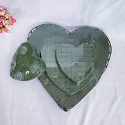 ELECTROPRIME Sale Top Plastic Heart Shaped Flower Clay Wedding Car Wedding Decoration Flowers