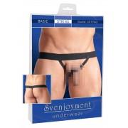Svenjoyment Double Lift G String Underwear Black 2111195