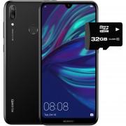 Celular Huawei Y7 2019 32GB 3GB Ram Dual Sim + Micro SD 32GB - Negro