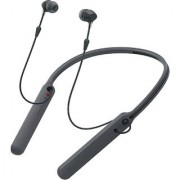 SBA ENTICE WI-C400 Premium Wireless Noise Cancelling Neck Band in-Ear Headphones (Black)