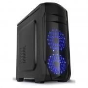 Carcasa X2 Spitzer 20, MiddleTower, Fara sursa, Negru