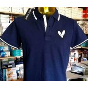 Sweet Polo uomo Sweet Years manica corta con logo e stampa sul collo