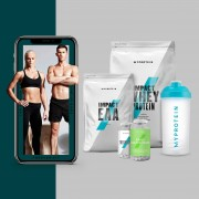 The Tone-Up Bundle + Free Training & Nutrition Guide - EAA - Tropical - Natural Strawberry