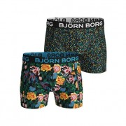 Björn Borg Sammy Shorts Strong Flower 2-Pack M