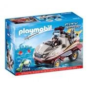 Playmobil City Action,Masina de teren amfibie