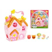 Lalaloopsy Tinies - Curls' House Playset - Adorable Houses are The Perfect Size for Your Lalaloopsy