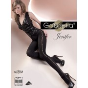 Gabriella - Elegant opaque patterned tights Jenifer 60 den