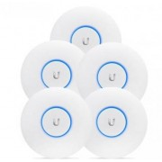 Ubiquiti UniFi AC Long Range 5-pack (UAP-AC-LR-5) - WLAN access points