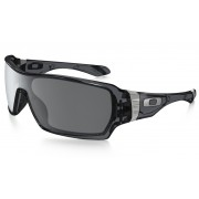 Oakley Offshoot - Frame: CRYSTAL BLACK Lens: BLACK IRIDIUM POLARIZED - Brillen