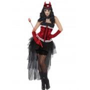 Costum Halloween adulti Diavolita Diva Demonica