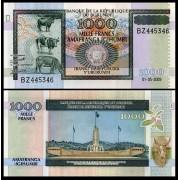Burundi 2009 - 1000 francs, necirculata