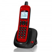 AEG Thor Outdoor 15 Teléfono Inalámbrico Exterior Rojo